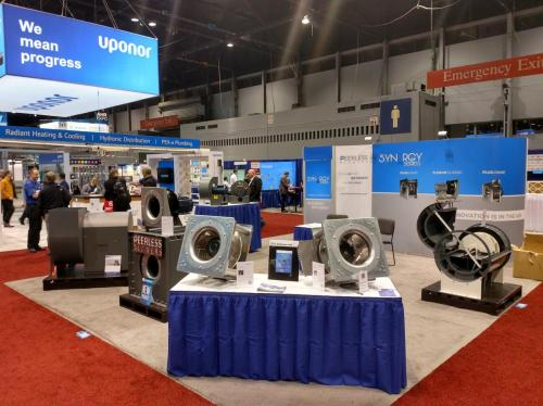 Trade Show Booth Objectives : Isoframe custom trade show exhibit blows em away in chicago
